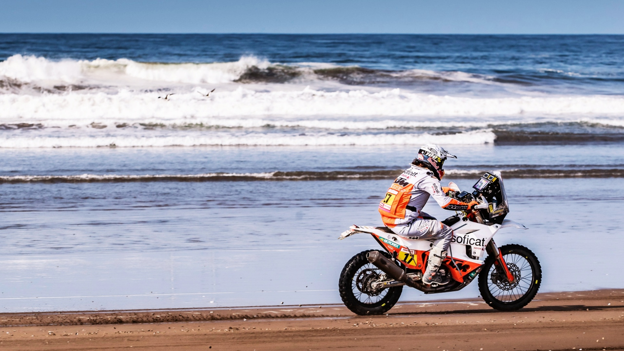Laia Sanz, ganadora Dakar 2019