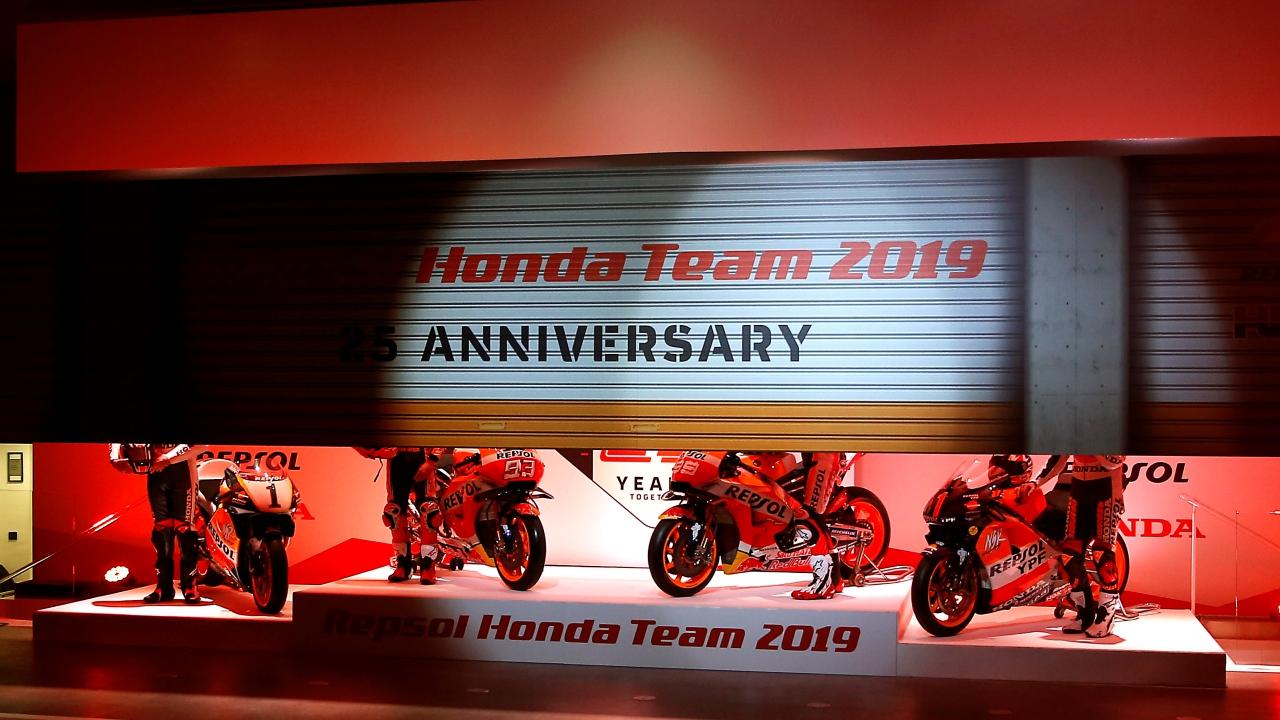 Presentación Repsol Honda MotoGP 2019 con Marc Márquez y Jorge Lorenzo