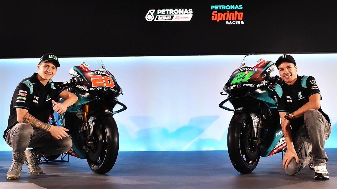 Presentación Petronas Yamaha SRT MotoGP 2019