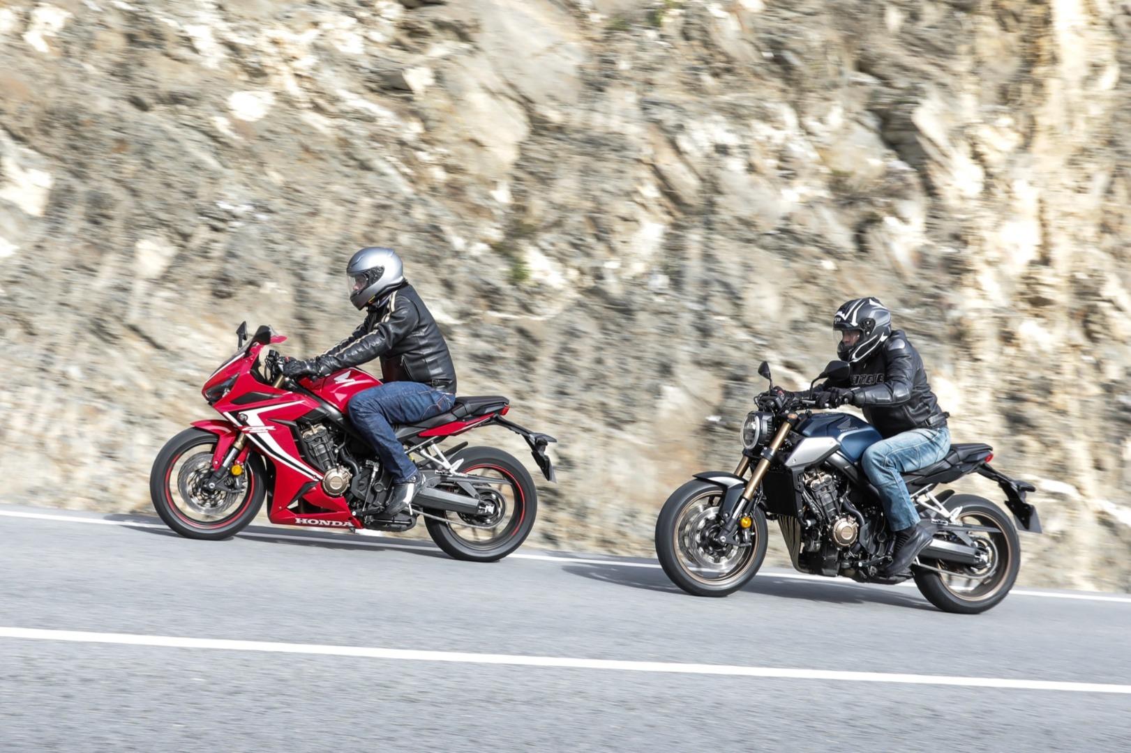 Fotos de las Honda CB650R & CBR650R 2019