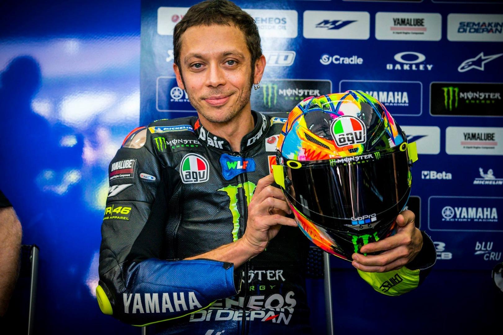 Valentino Rossi - AGV Pista GP R Winter Test 2019