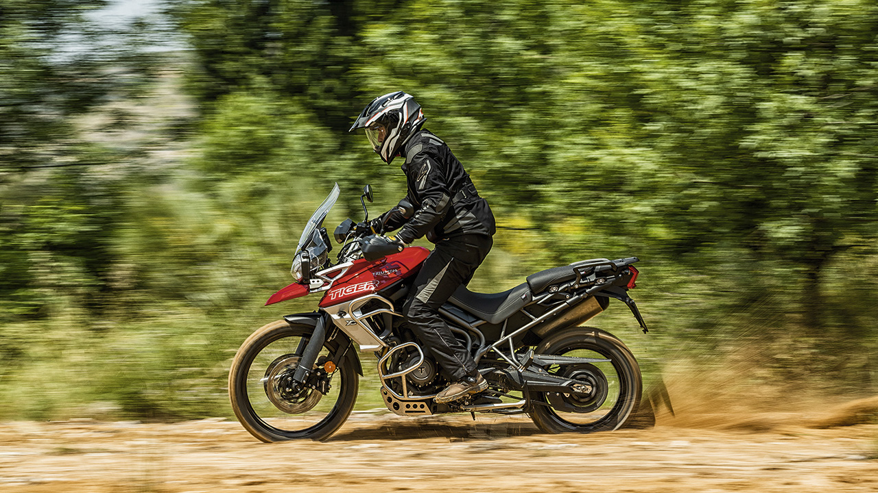 Comparativa trail, Triumph Tiger 800 XCA
