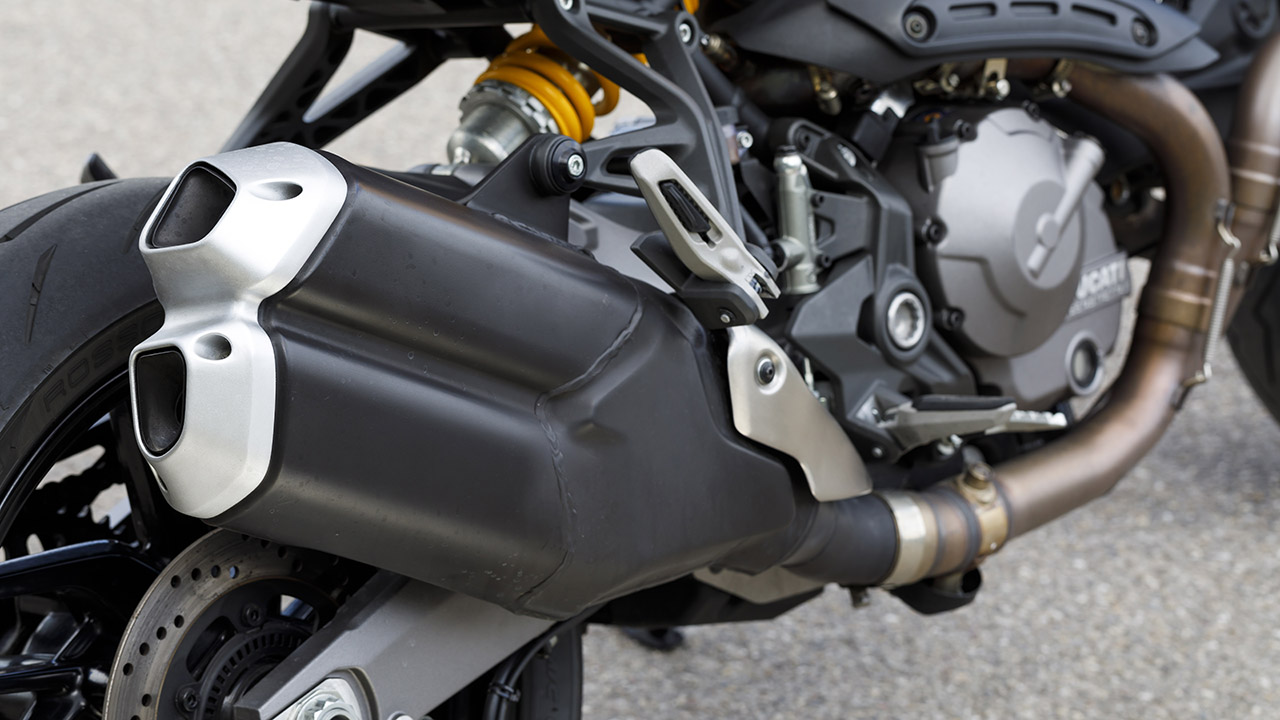 Comparativa Naked, Ducati Monster 821