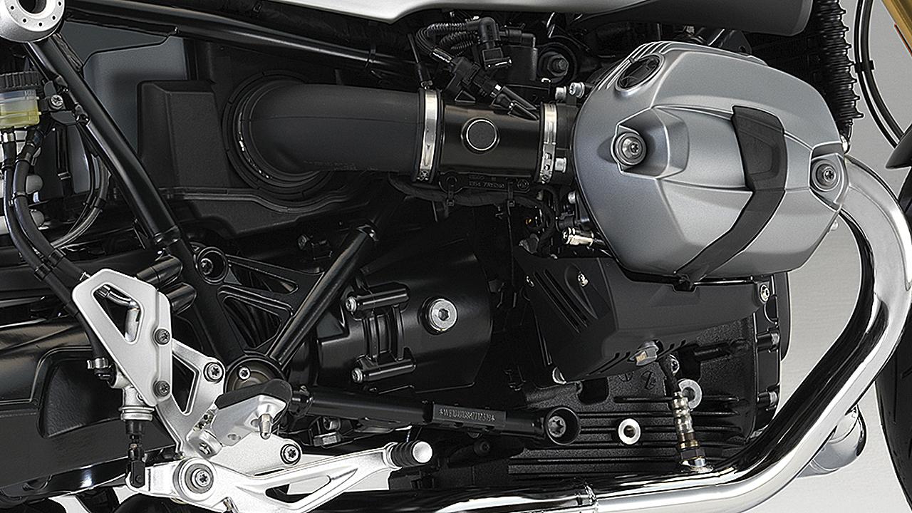 Como el resto de modelos de la numerosa saga R nineT, está empujada por el bóxer de 1.170 cc de penúltima generación