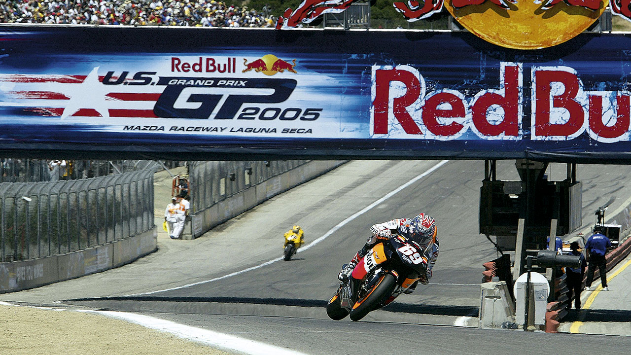 Nicky Hayden. The Kentucky Kid
