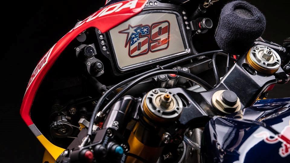 La Honda CBR1000RR SP2 de Nicky Hayden 2017