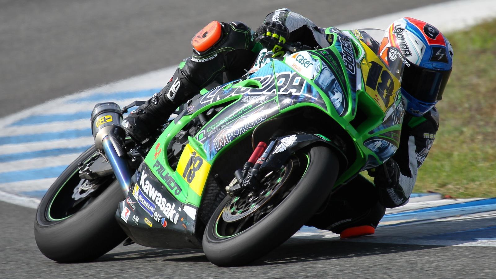 Lucas de Ulacia está en la UCI tras un grave accidente en el Circuito de Jerez