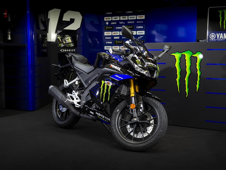 Yamaha YZF-R125 2019, réplica MotoGP