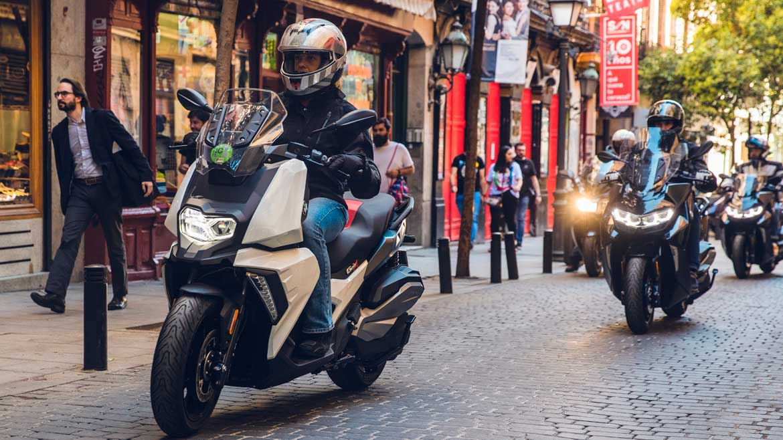 Descubriendo Madrid con los nuevos BMW C 400 X y C 400 GT