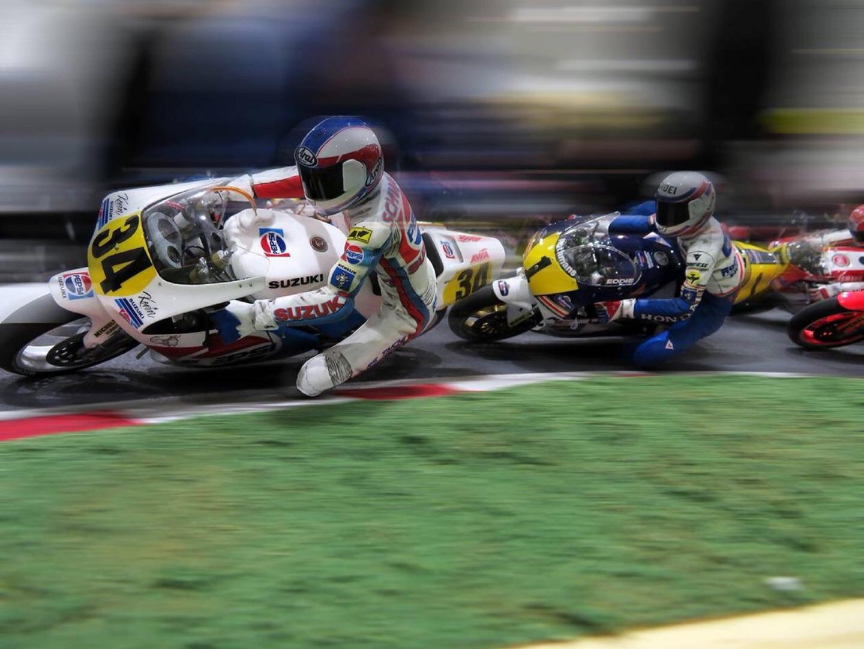 Espectaculares maquetas del Mundial de 500cc