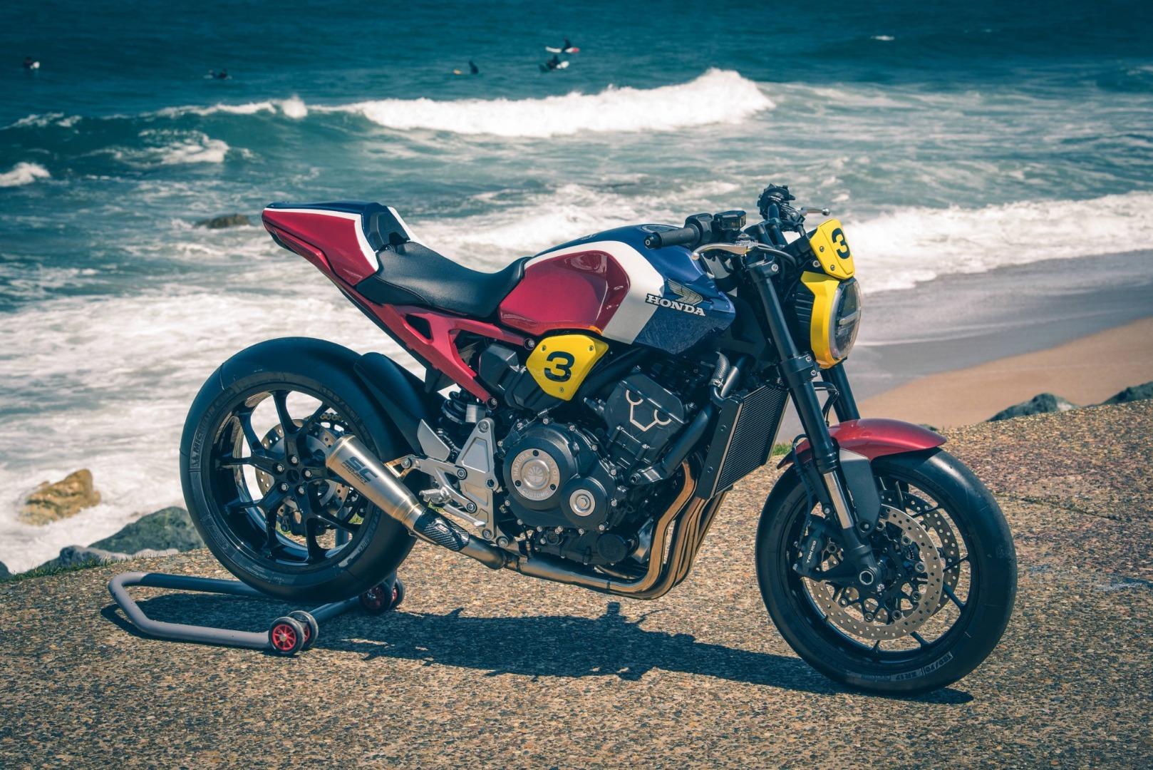 12 preparaciones Honda CB1000R para el Wheels & Waves 2019