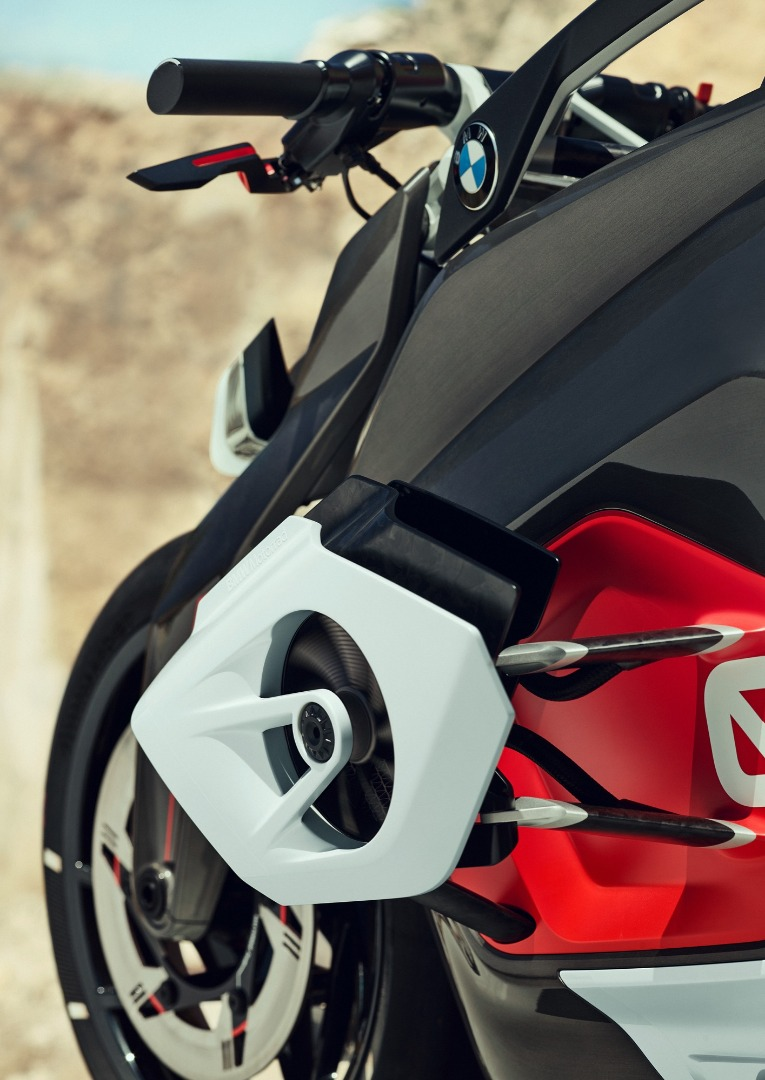 BMW Motorrad Vision DC Roadster, la eléctrica de BMW