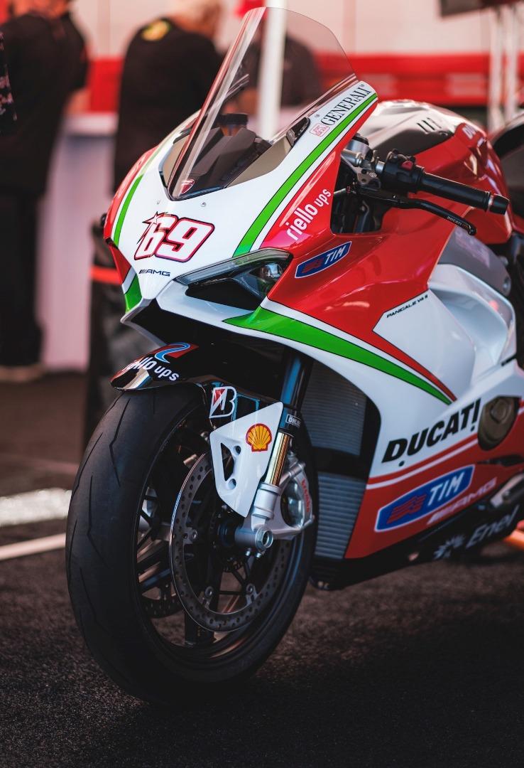 Ducati Panigale V4 S Nicky Hayden Tribute