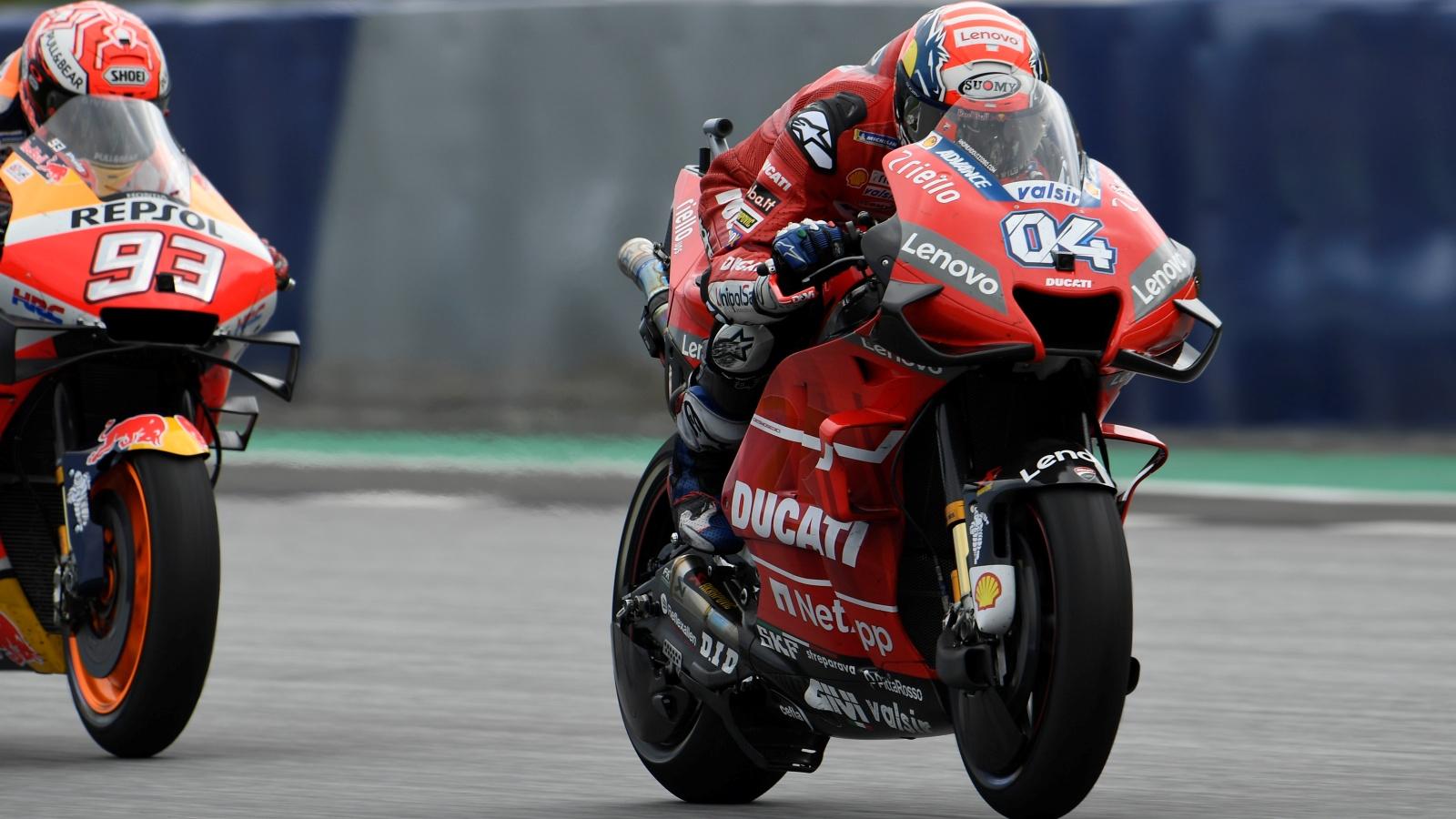 Andrea Dovizioso vs Marc Márquez, MotoGP Austria 2019