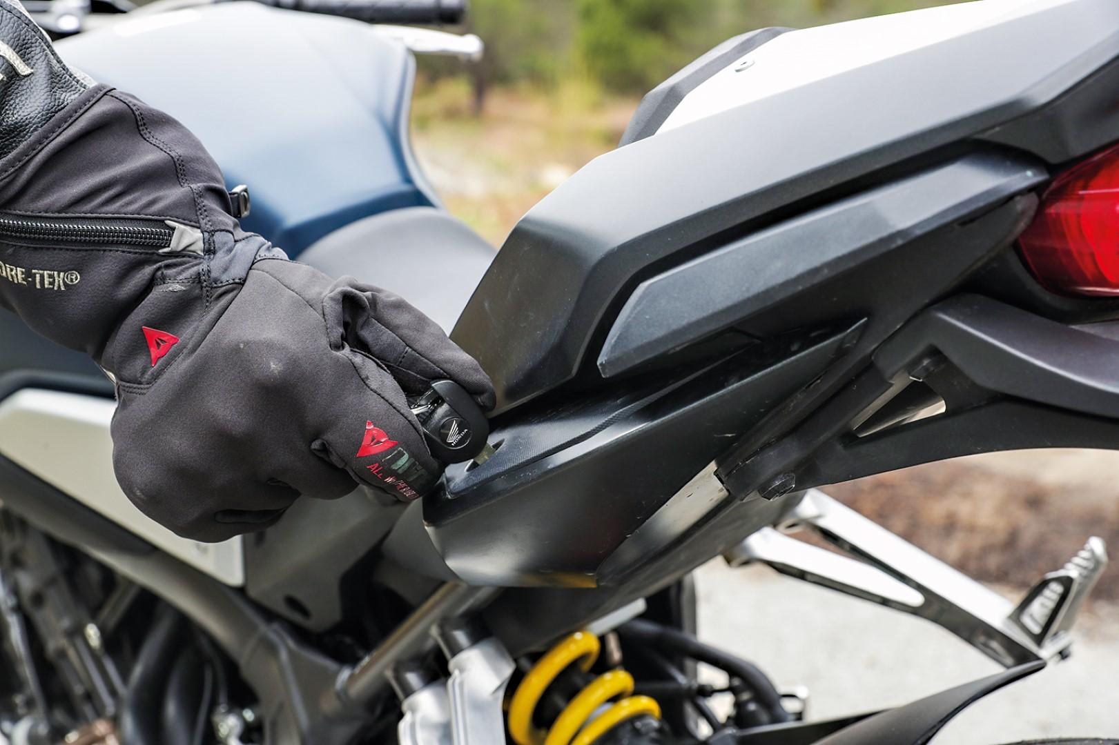 Superprueba de la Honda CB650R