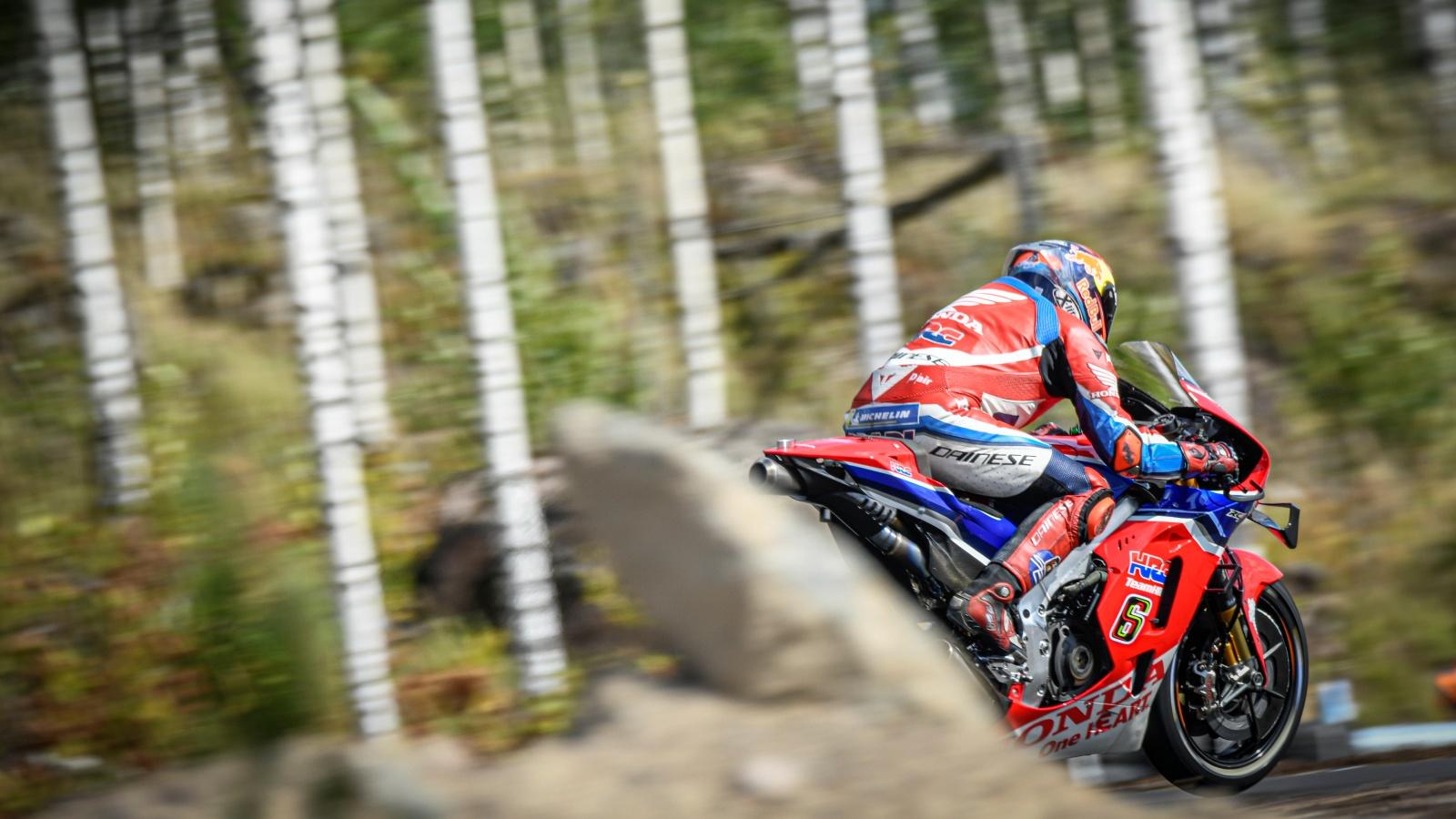 Primer test MotoGP en KymiRing