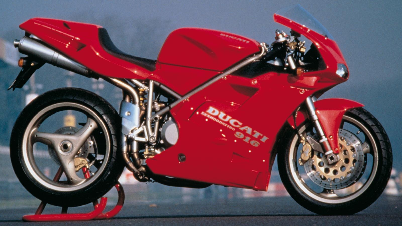 Ducati 916: el mito original en detalle y sus versiones