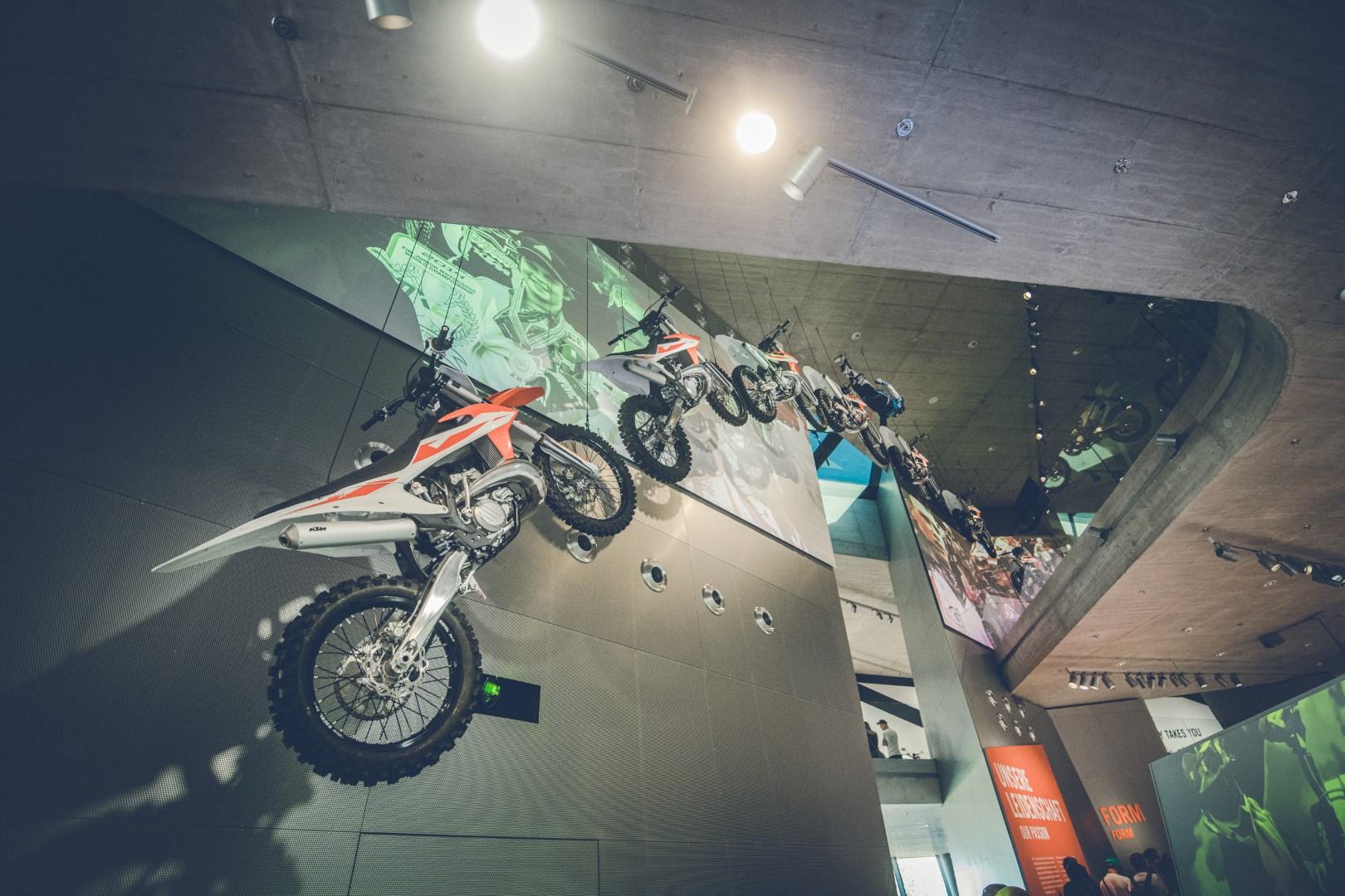KTM Motohall. Fotos visita