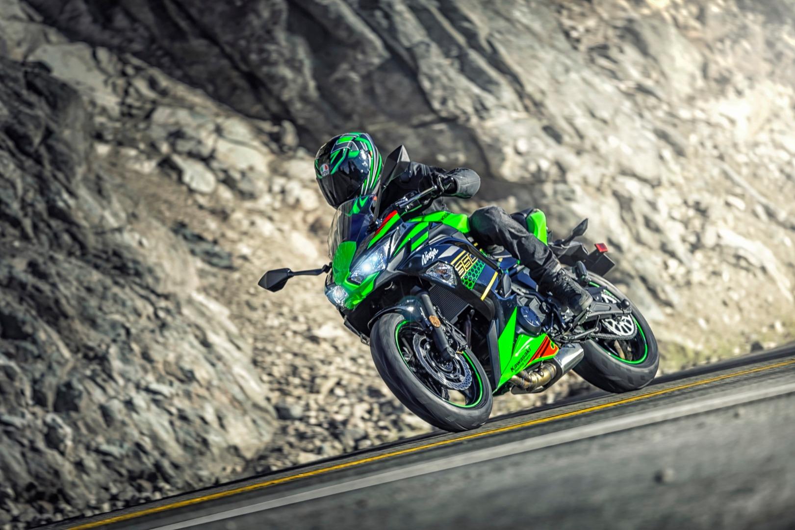 Kawasaki NInja 650 2020, fotos de la nueva sport-tourer japonesa limitable para A2