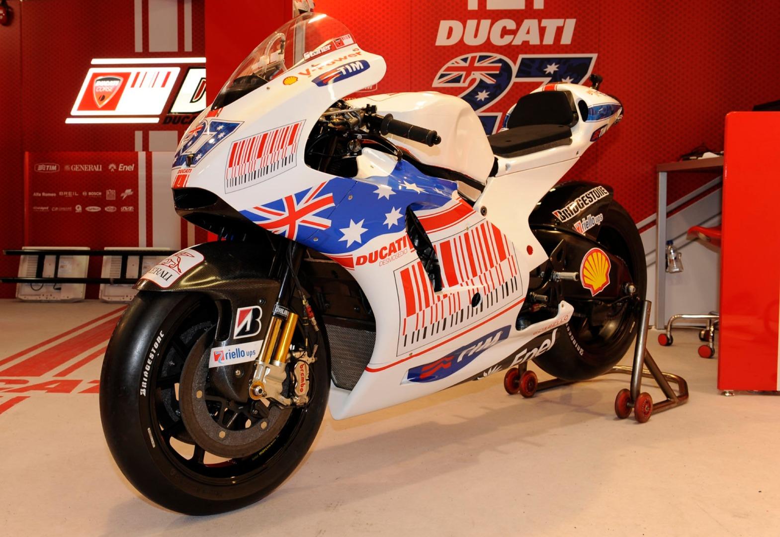 Ducati Desmosedici GP9 - Casey Stoner Australia 2009