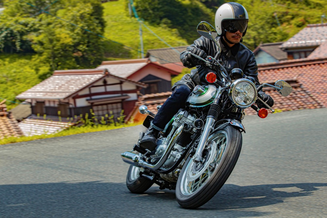Kawasaki W800 Street 2020. Fotos