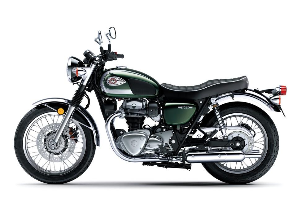 Kawasaki W800 Cafe 2020. Fotos