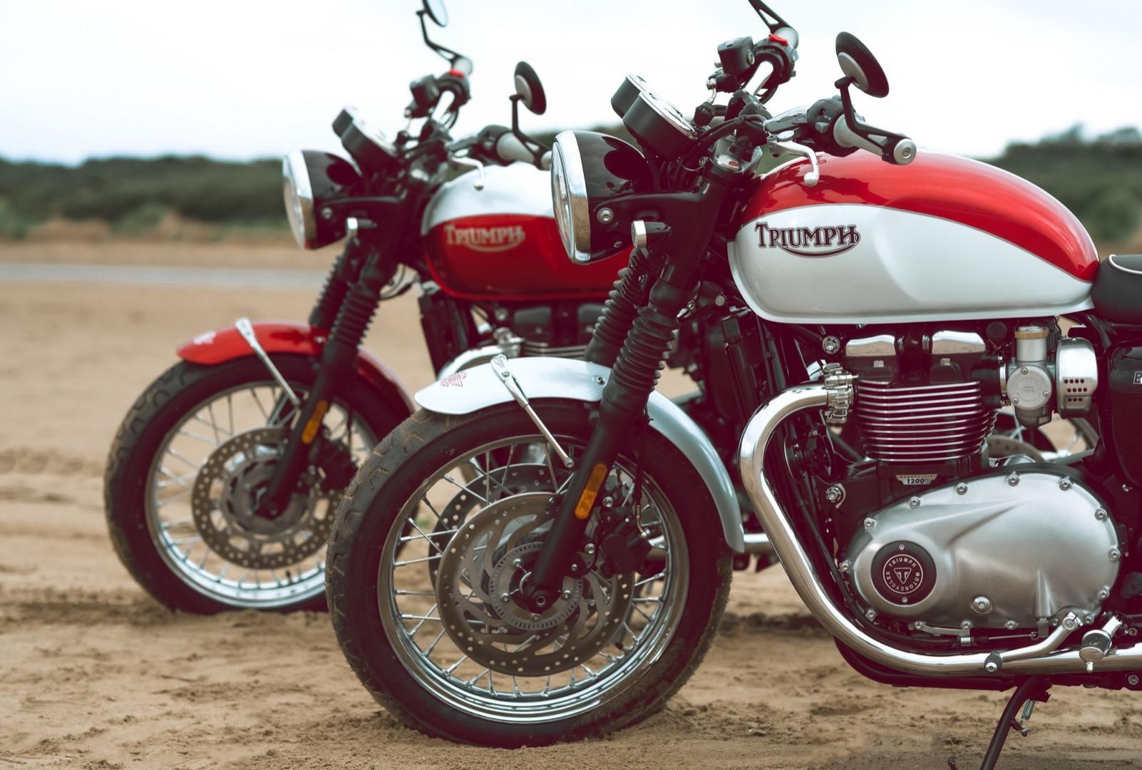 Triumph Bonneville T100 & T120 Bud Ekins