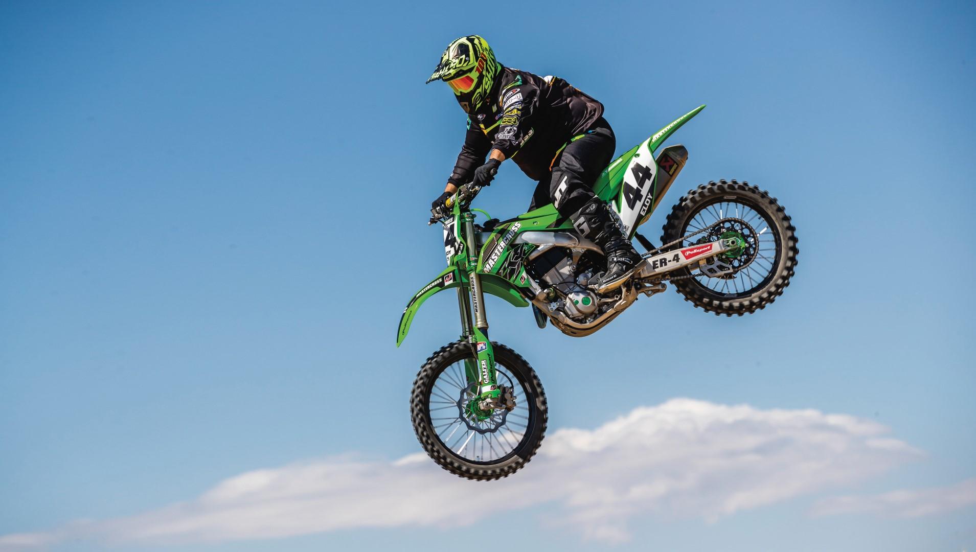 Kawasaki KX 450 Mastercross, prueba y fotos