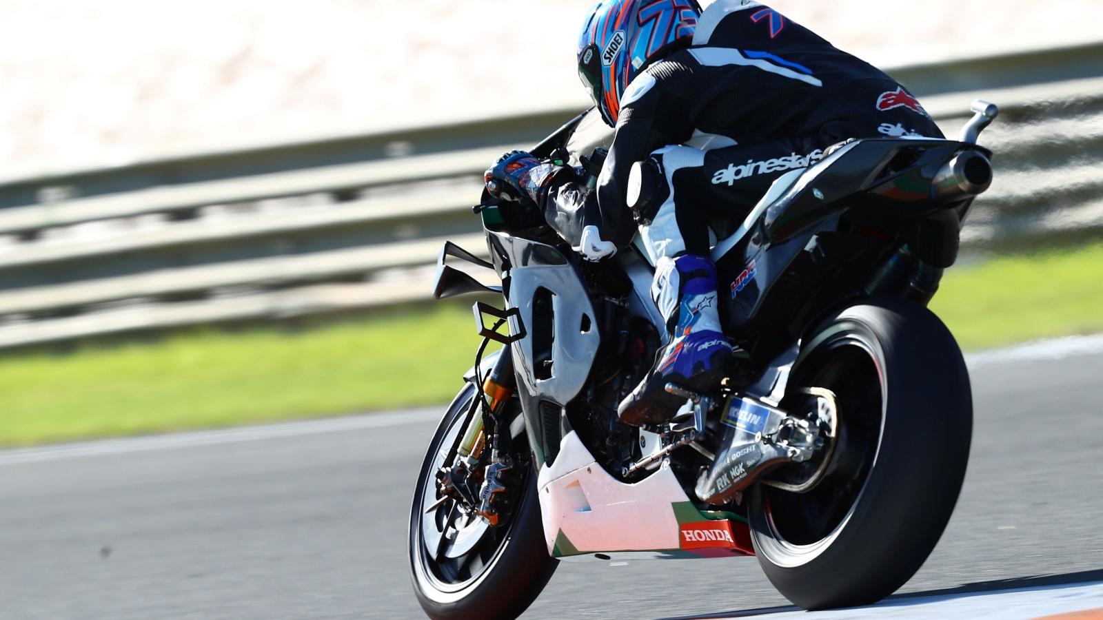 Álex Márquez Honda RC213V test Valencia MotoGP 2020