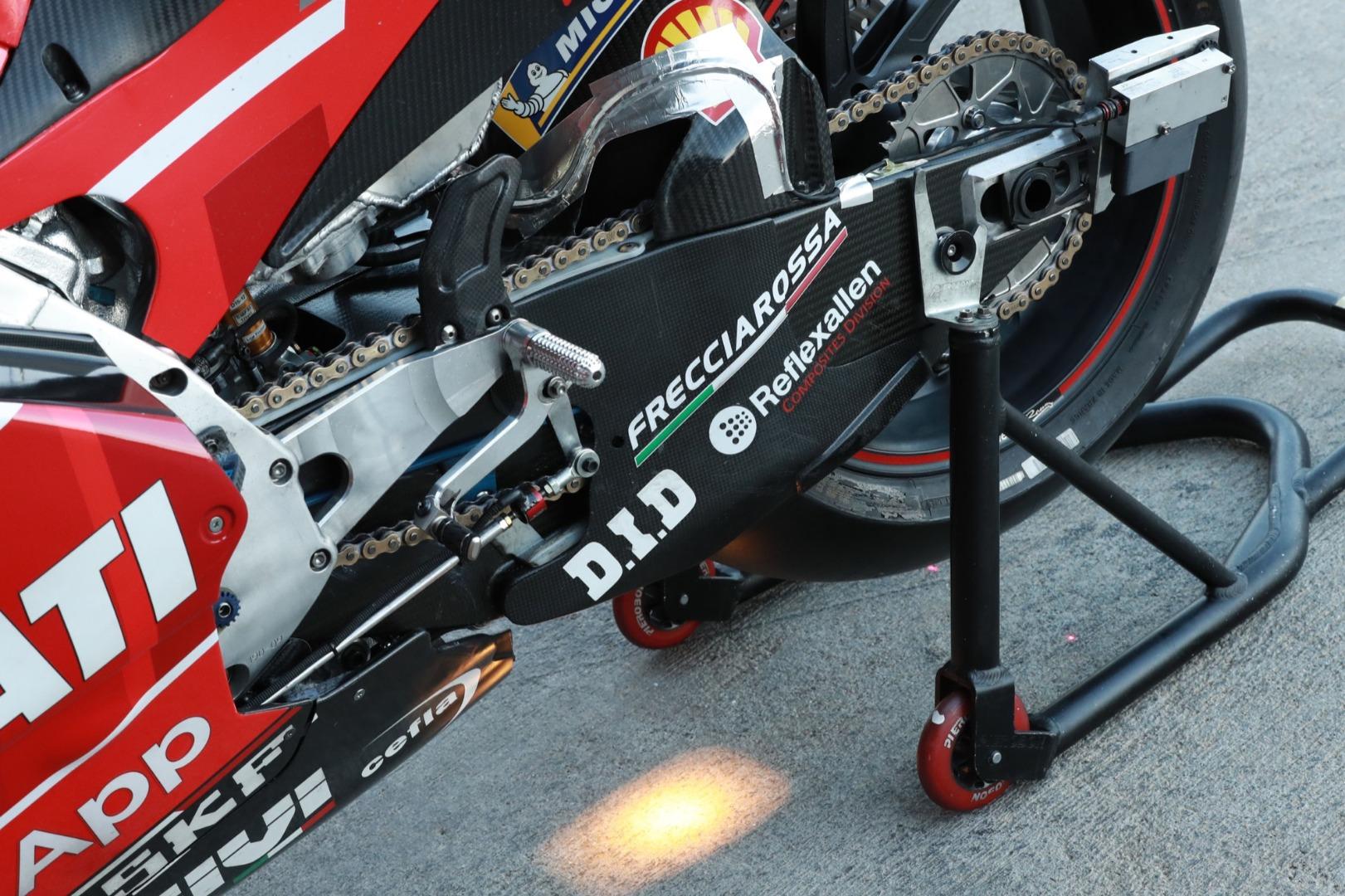Ducati GP 20 - Medidas al milímetro