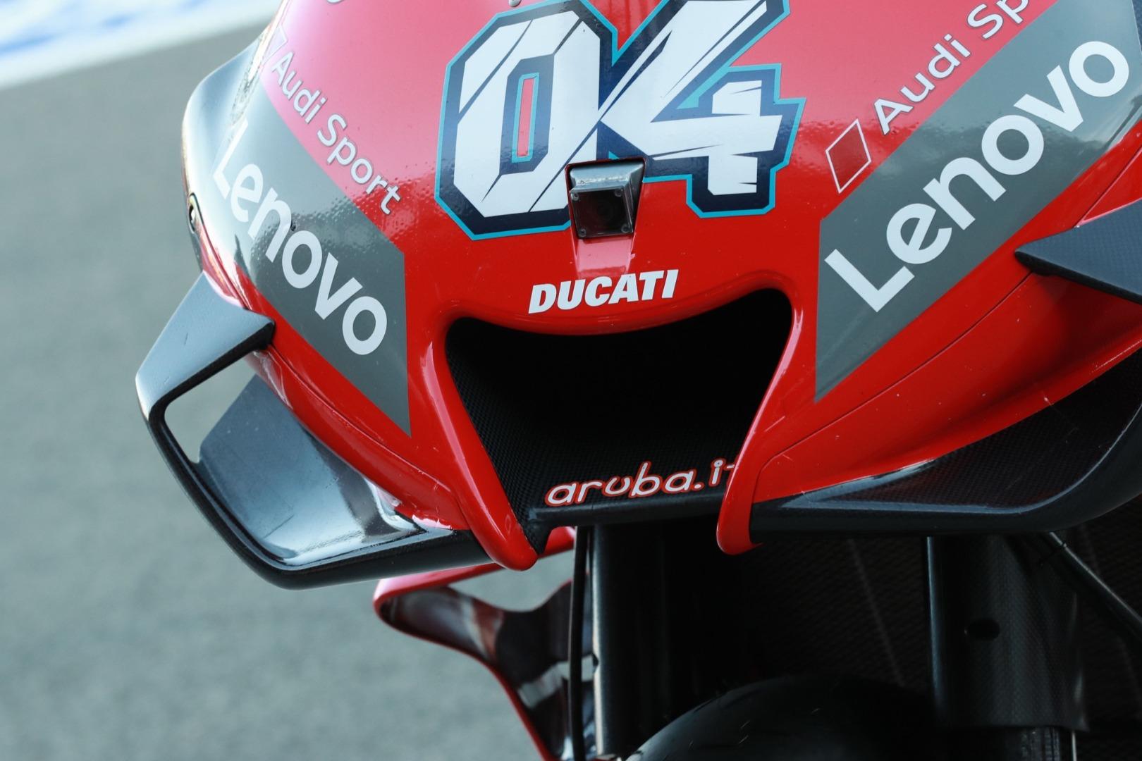 Ducati GP 20 - Sin novedades en el frontal