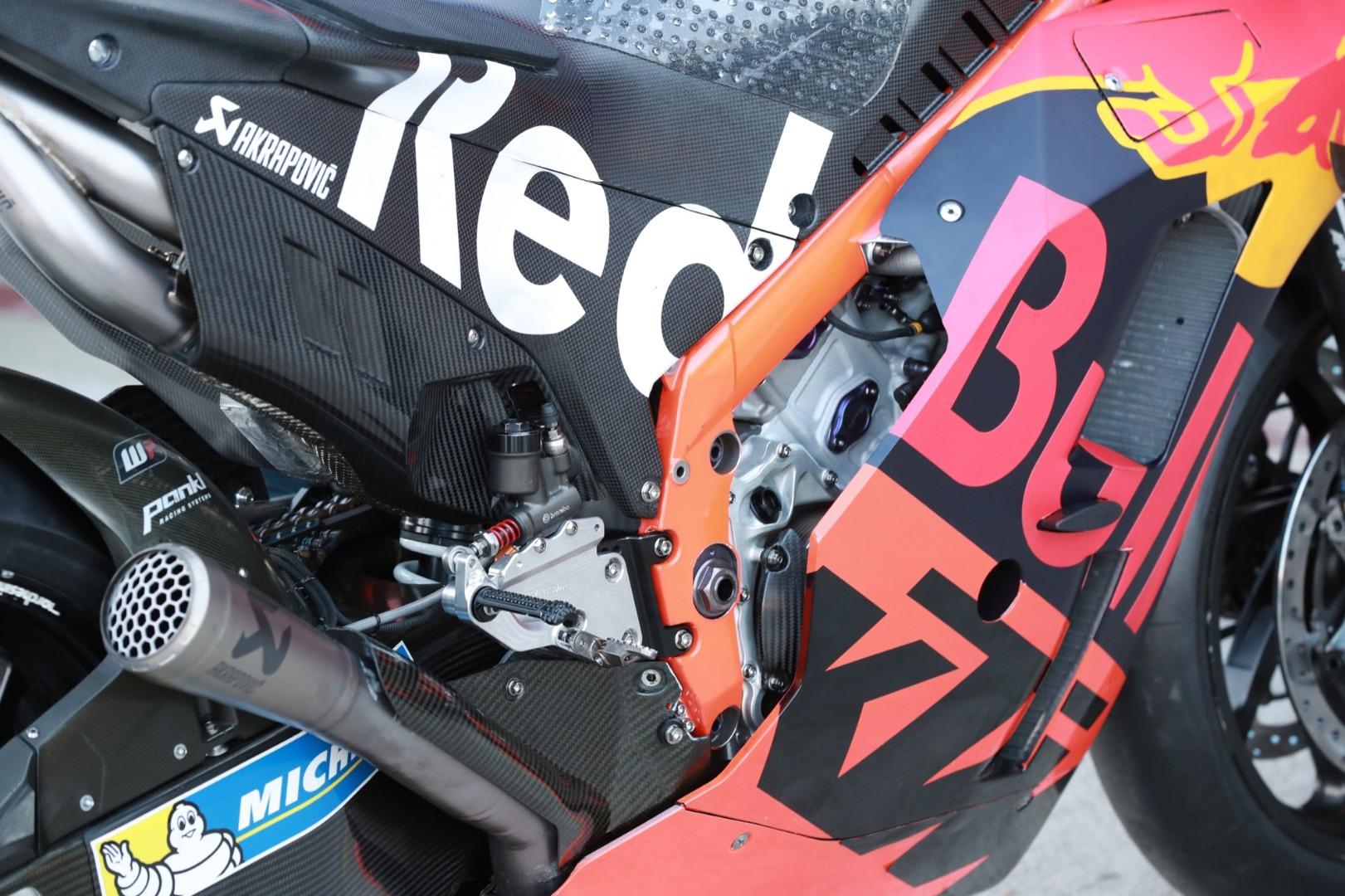 KTM RC16 2020 - 80% tubular, 20% viga