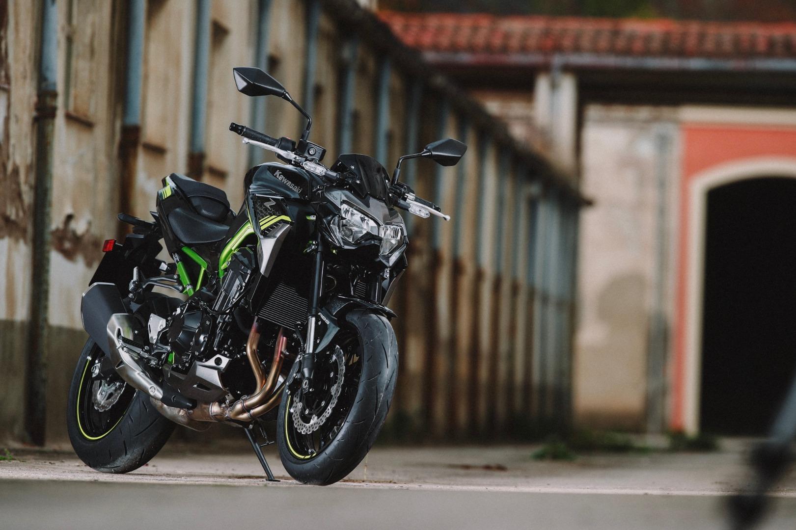 Galería de fotos de la Prueba Kawasaki Z900 2020