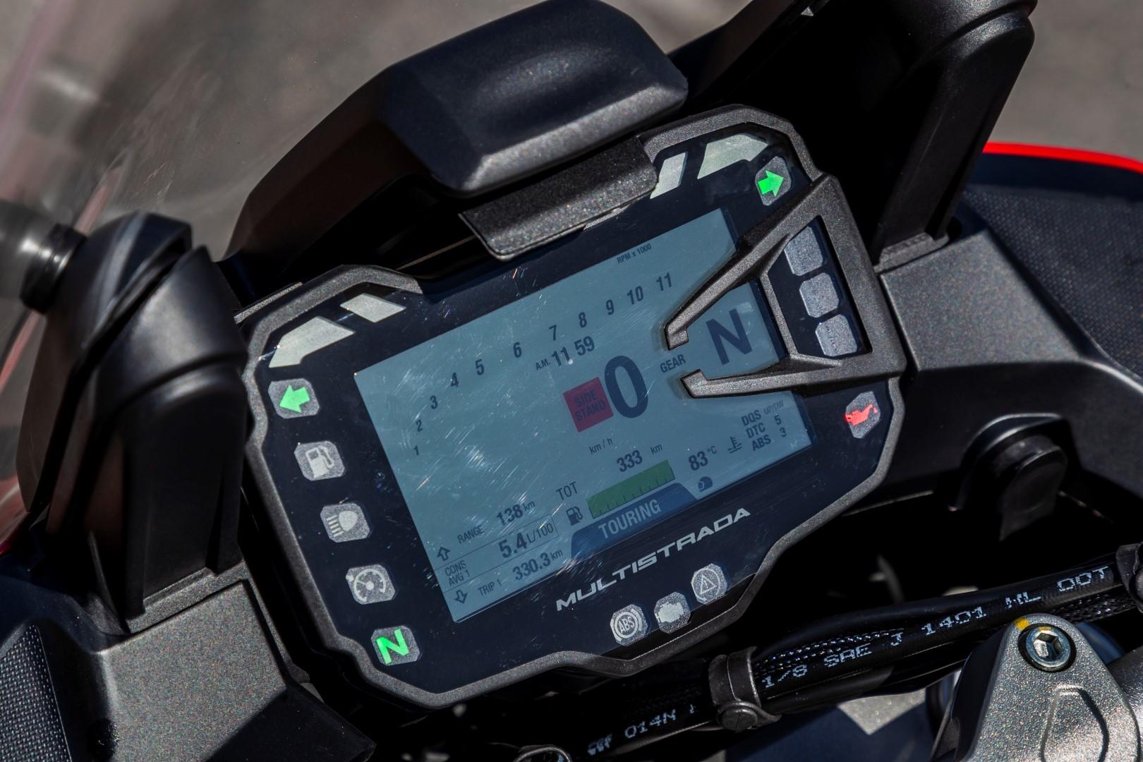 Comparativa sport turismo: Ducati Multistrada 950 S, Kawasaki Versys 1000, Suzuki DL1000 V-STROM y Yamaha Tracer 900 GT