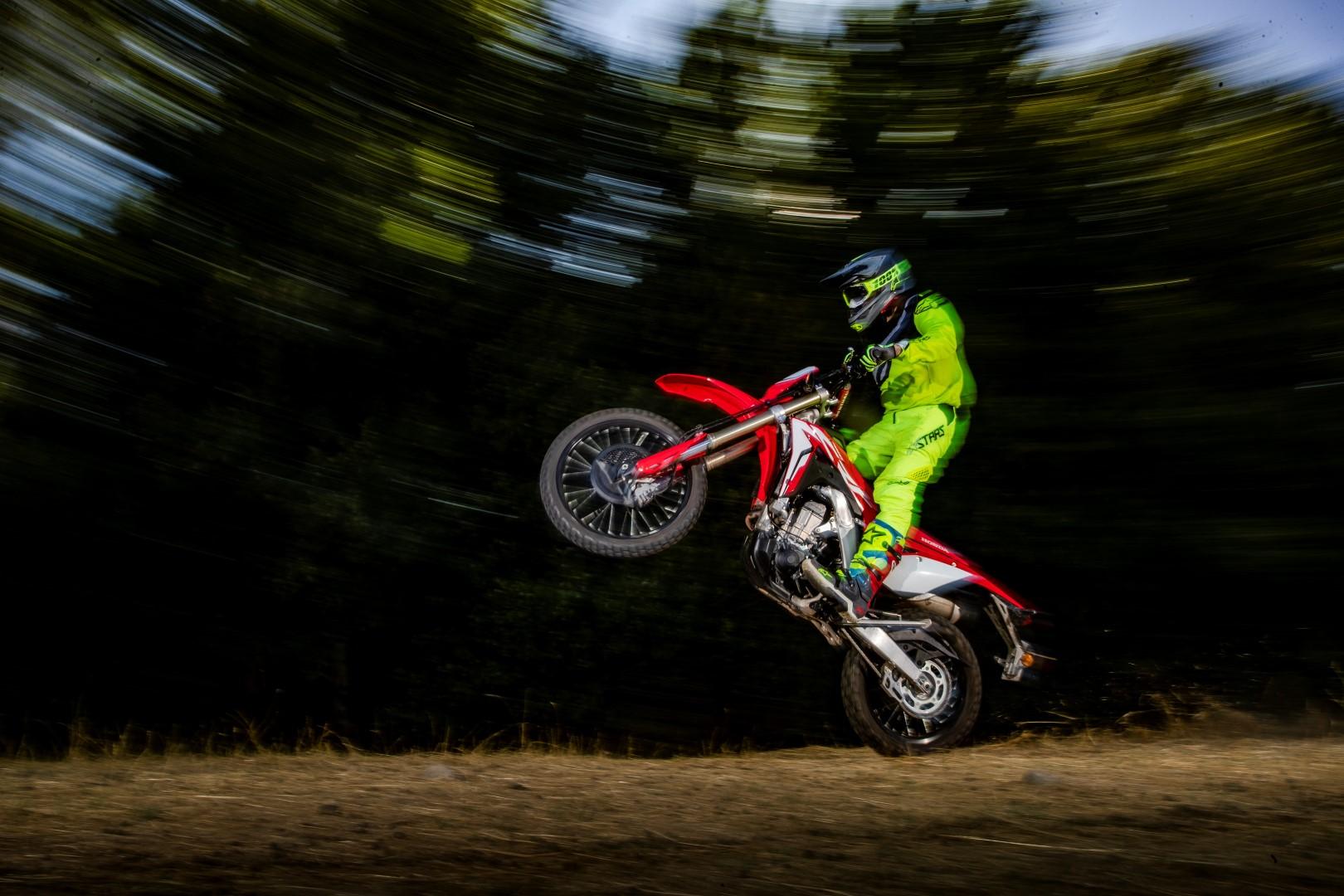 Honda CRF 450 L, prueba y fotos