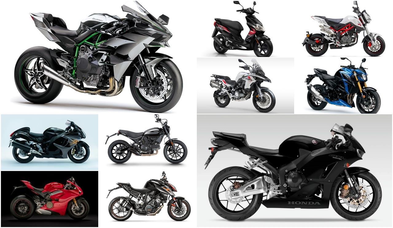 Las 10 motos más buscadas de 2019