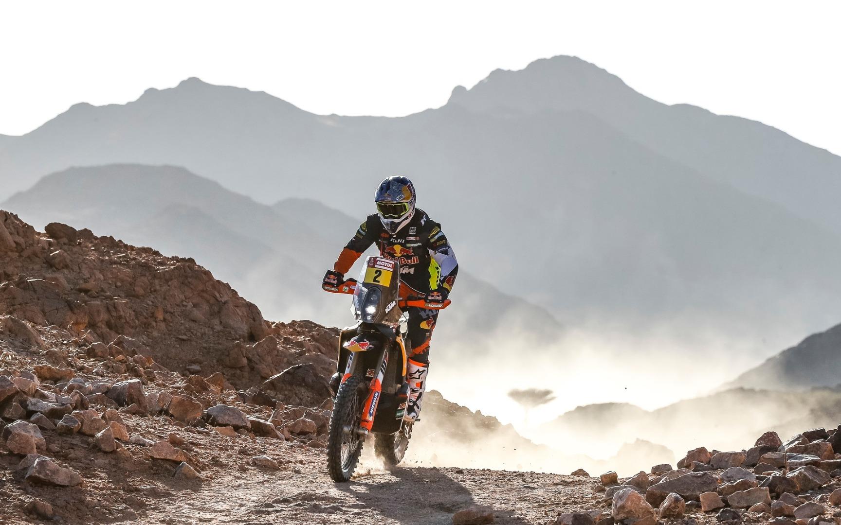 Matthias Walkner, KTM, Etapa 2, Dakar 2020