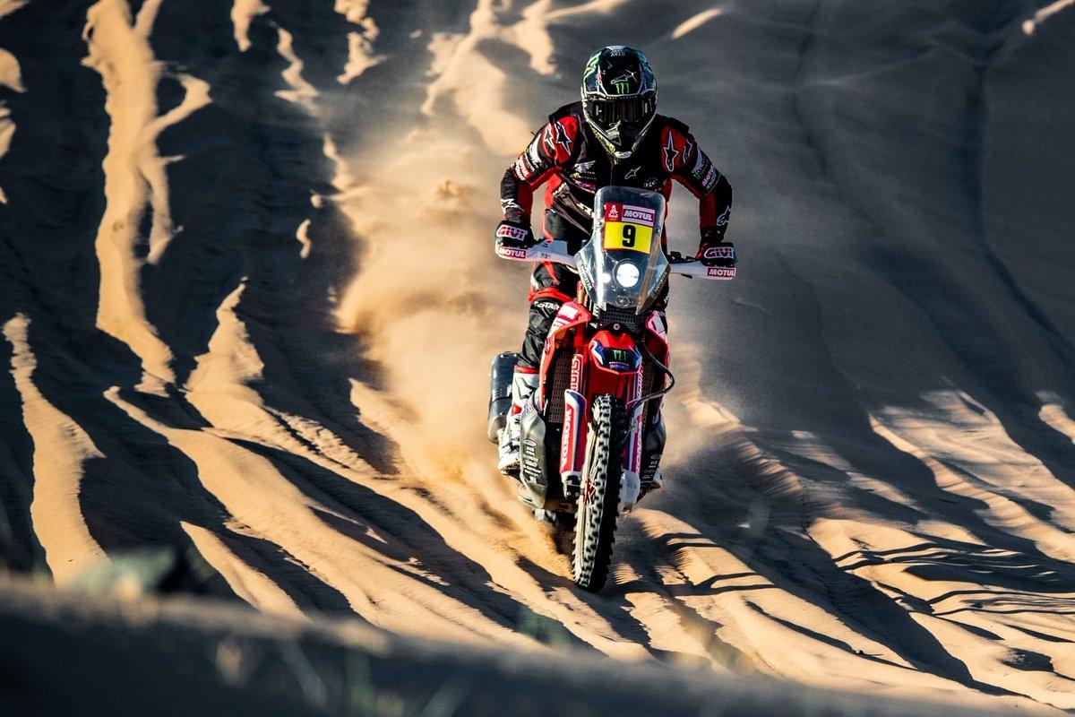 Ricky Brabec, Monster Energy Honda, Etapa 2, Dakar 2020