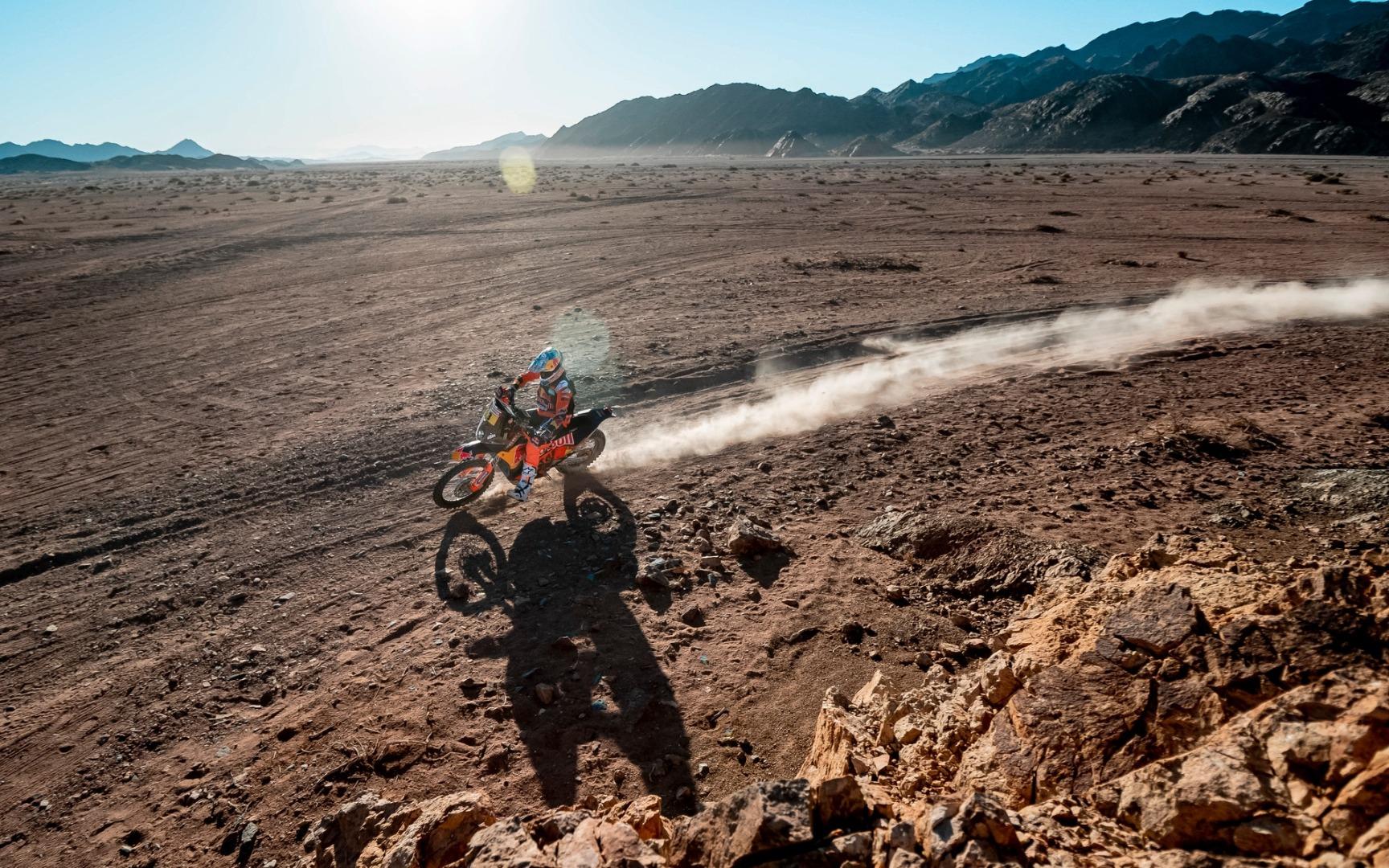 Sam Sunderland, KTM, Etapa 3, Dakar 2020