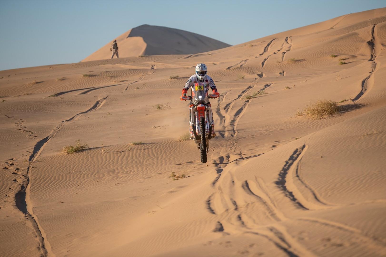 Ross Branch, KTM, Etapa 3, Dakar 2020