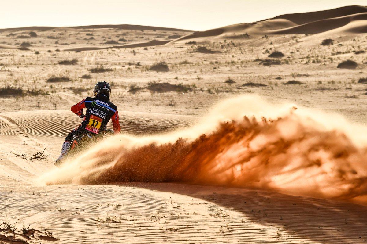 Jose Ignacio Cornejo, Monster Energy Honda, Etapa 4, Dakar 2020