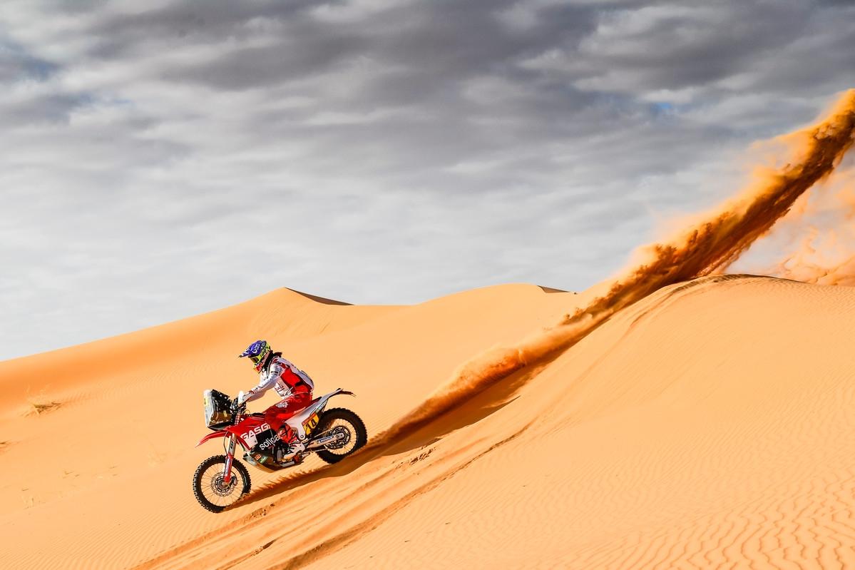 Laia Sanz, Gas Gas Factory Racing, Etapa 6, Dakar 2020