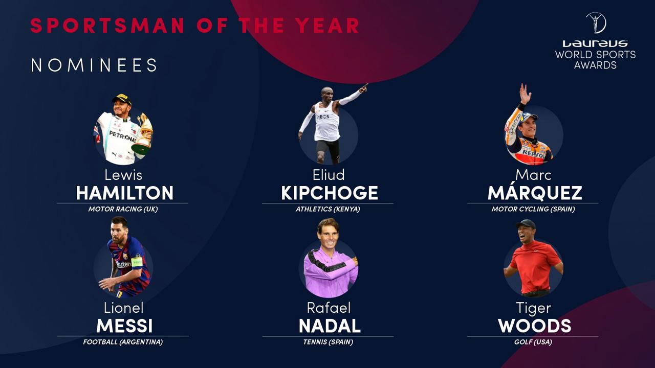 Marc Márquez, nominado al Laureus como Mejor Deportista del Año