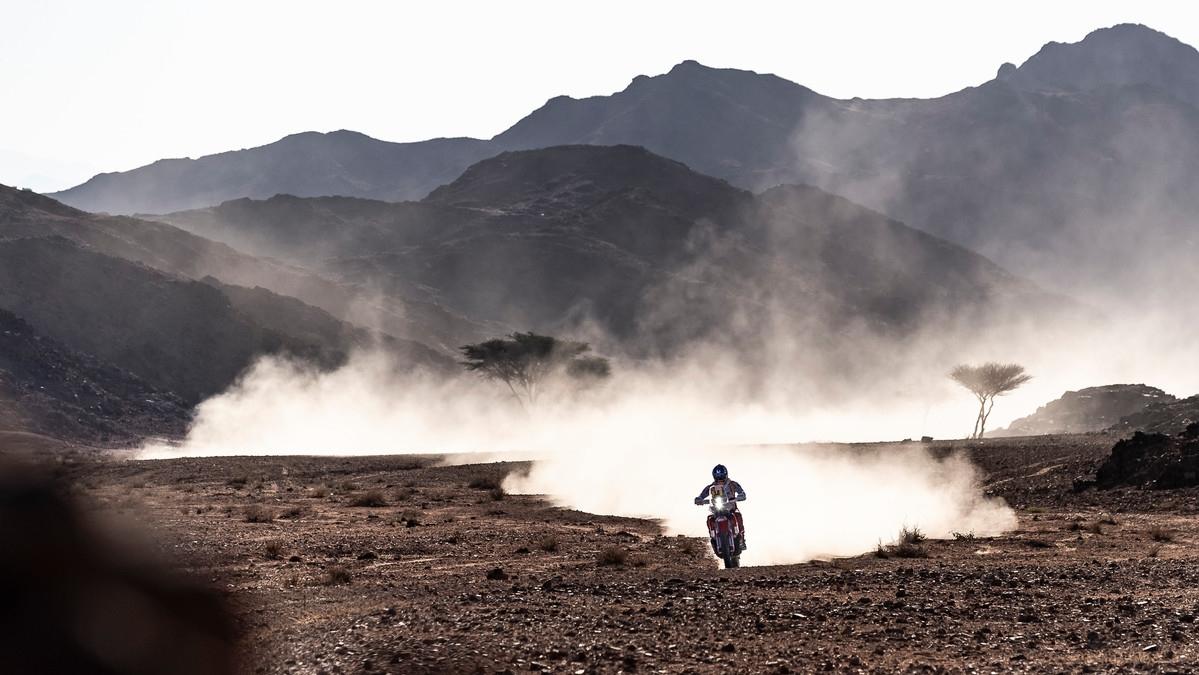 Laia Sanz en el Dakar 2020