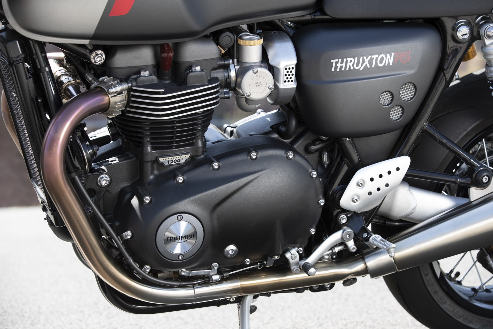 Triumph Thruxton RS 2020. Fotos