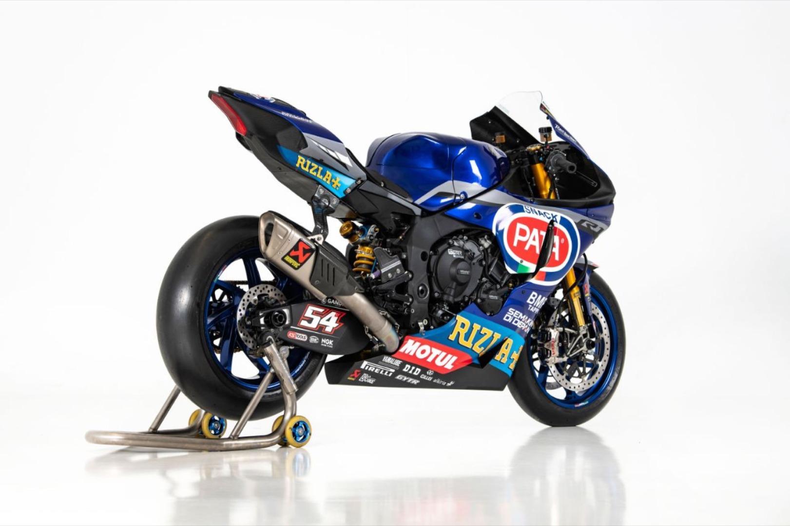 Yamaha Superbike 2020 - Michael van der Mark, Toprak Razgatlioglu, Federico Caricasulo, Garrett Gerloff y Loris Baz