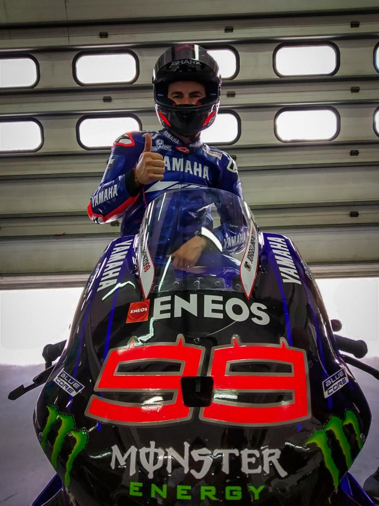 Jorge Lorenzo vuelve a Yamaha - MotoGP Test Sepang 2020