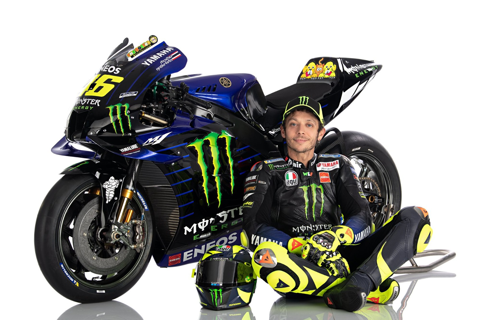 Yamaha YZR-M1 MotoGP 2020 - Maverick Viñales & Valentino Rossi