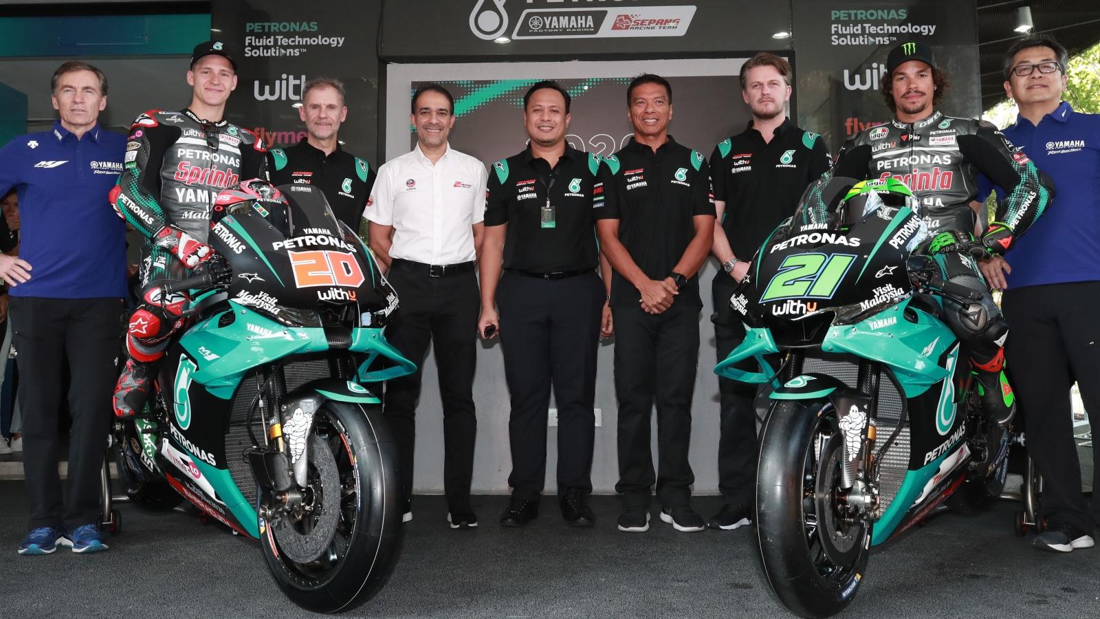 Yamaha YZR-M1 Petronas MotoGP 2020 - Fabio Quartararo & Franco Morbidelli