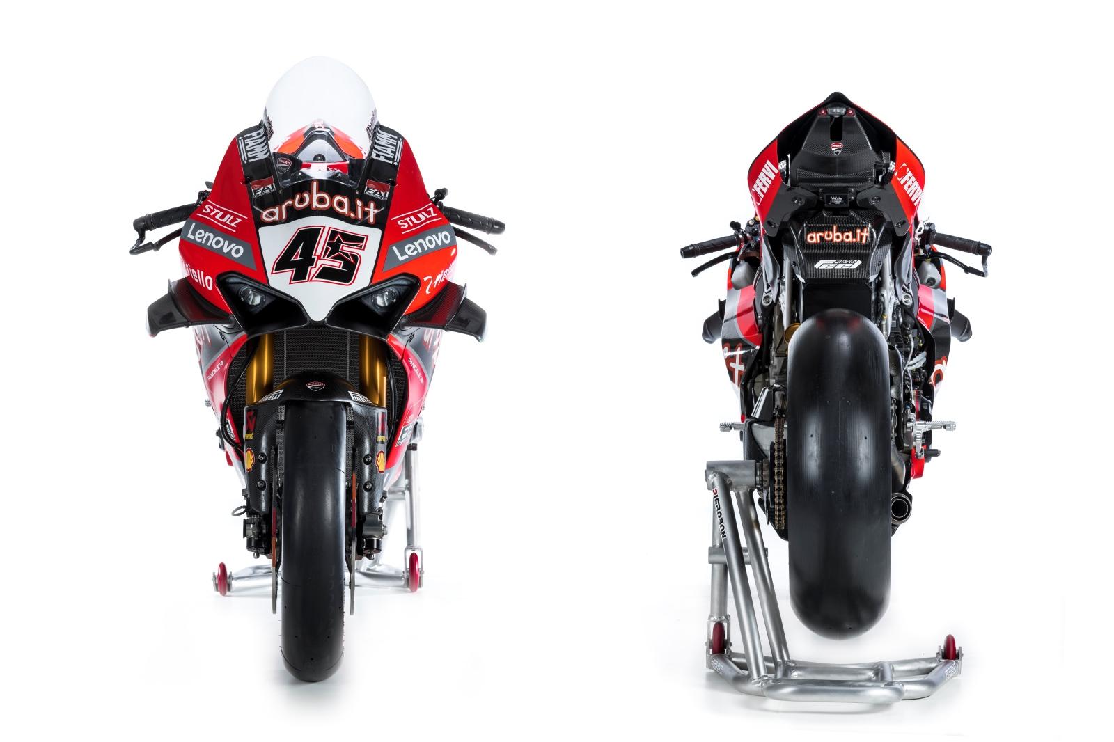 Ducati Panigale V4R WSBK - Scott Redding & Chaz Davies